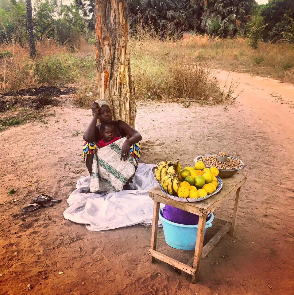 woman gambia